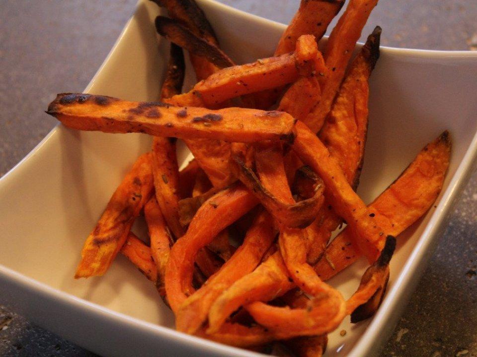 Baked Sweet Potato Fries: 3ten.ca