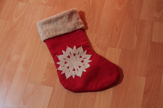 Sewing - Reversible Christmas Stocking: 3ten.ca