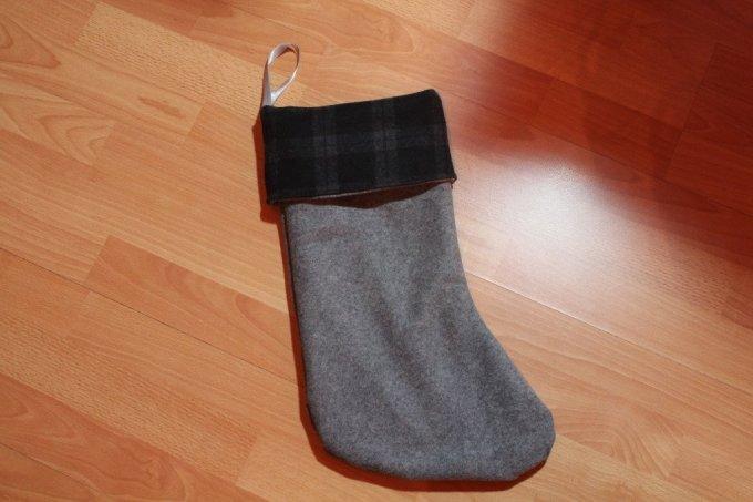 Sewing - Reversible Christmas Stocking: 3ten.ca