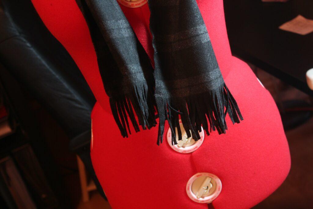 Men's Wool Scarf: 3ten.ca