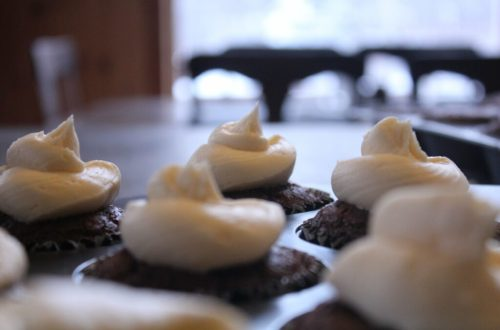 Chocolate Yogurt Cupcakes: 3ten.ca