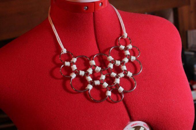 DIY Ring Necklace: 3ten.ca