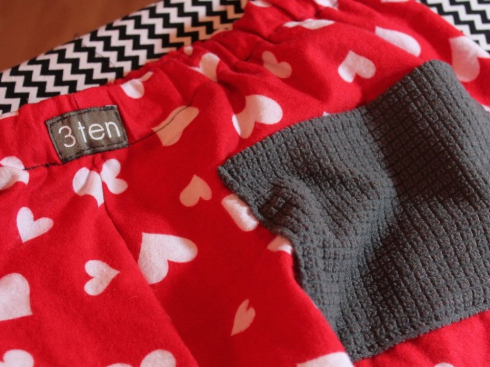 Men's Valentine's Day Pants: 3ten.ca