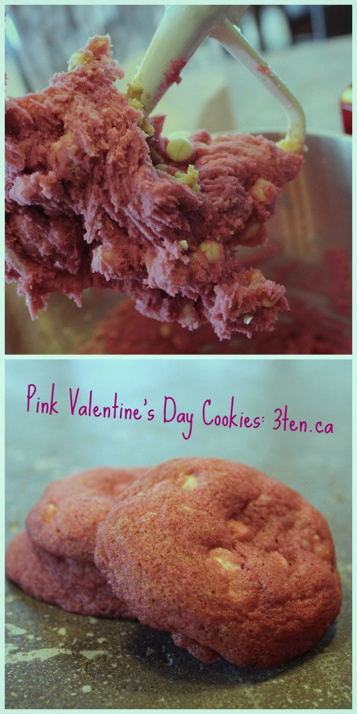 Pink Valentine's Day Cookies: 3ten.ca