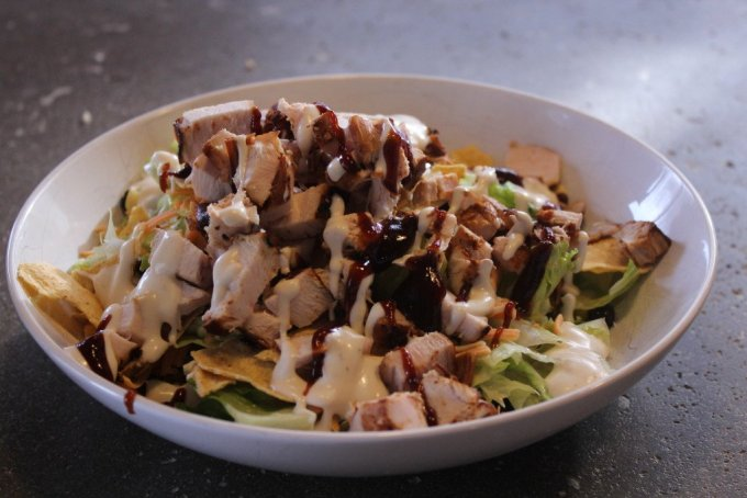 BBQ Chicken Salad: 3ten.ca