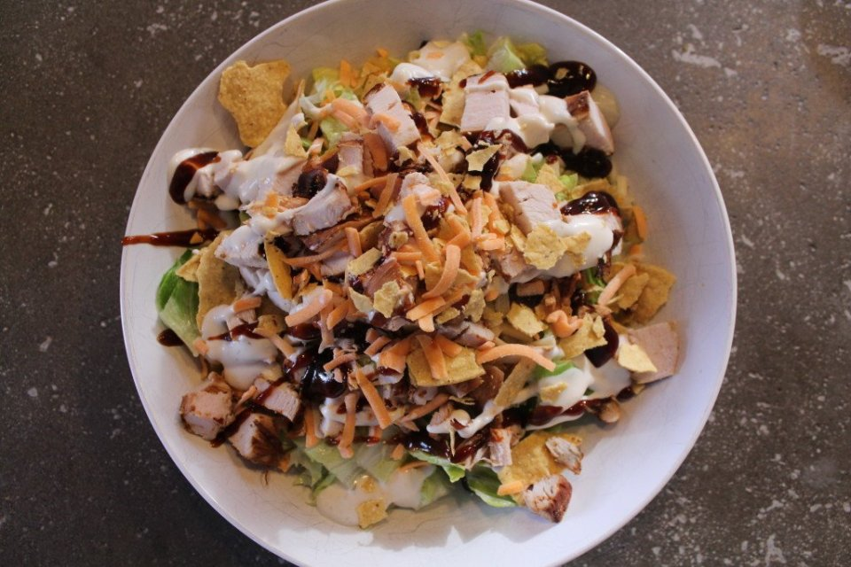 BBQ Chicken Salad: 3ten.ca