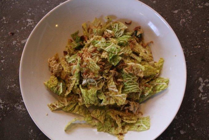 Ramen Cabbage Salad: 3ten.ca