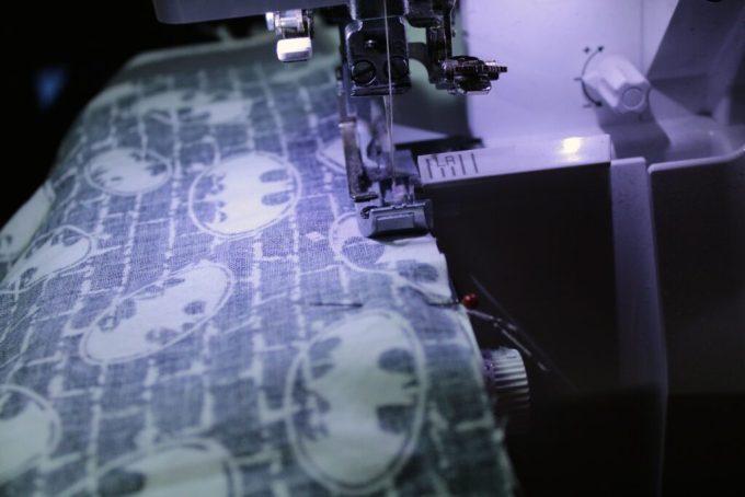 Batman Baby Blanket: 3ten.ca #sewing