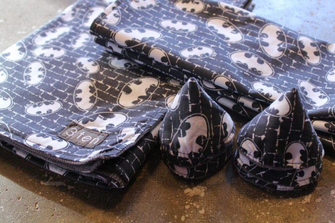 Batman PeePee TeePees: 3ten.ca #sewing
