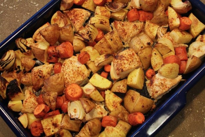 One Pan Chili Roasted Chicken: 3ten.ca