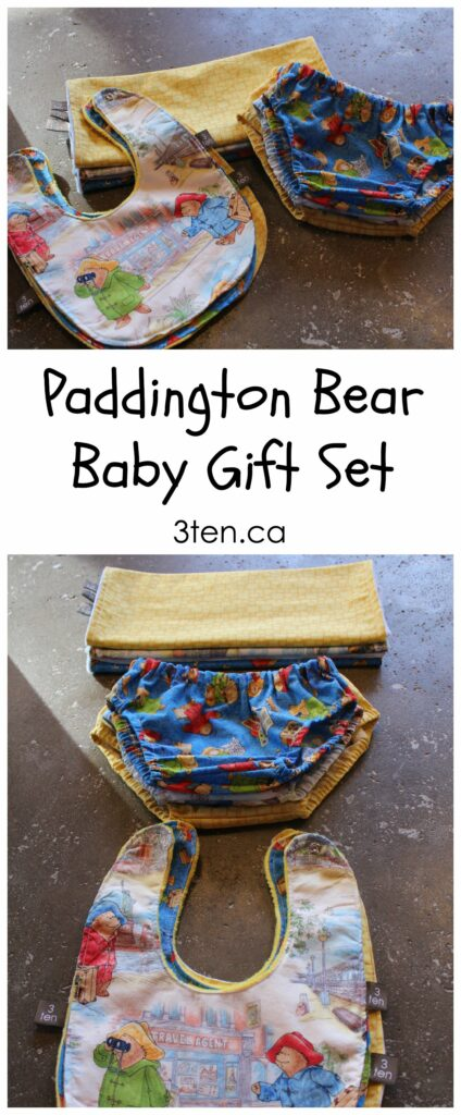 Paddington Bear Baby Gift Set: 3ten.ca