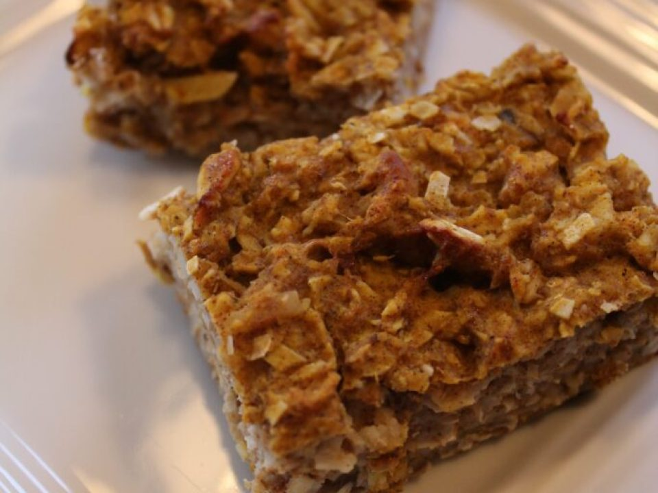 Oatmeal Breakfast Bar: 3ten.ca