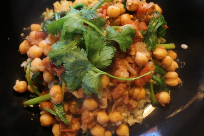 Chickpea and Spinach Curry: 3ten.ca