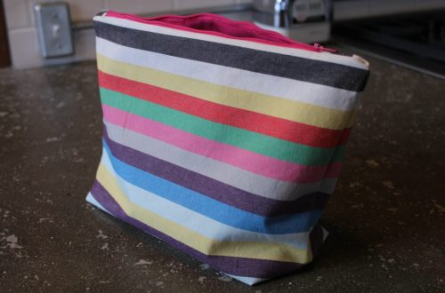 DIY Makeup Bag: 3ten.ca