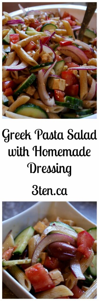 Greek Pasta Salad: 3ten.ca