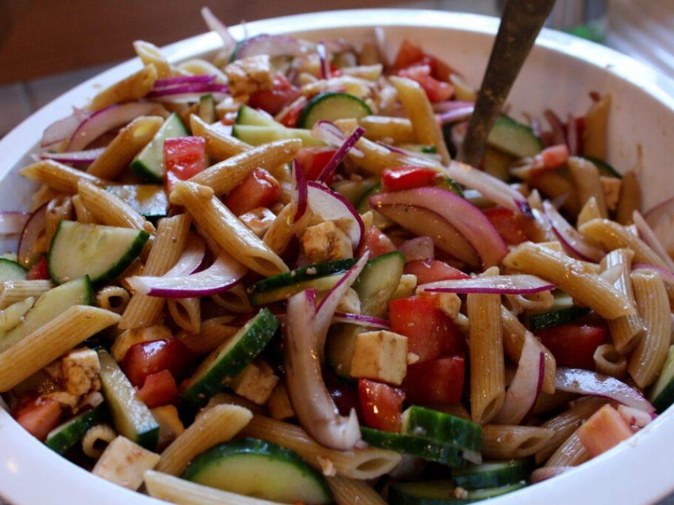 Greek Pasta Salad: 3ten.ca
