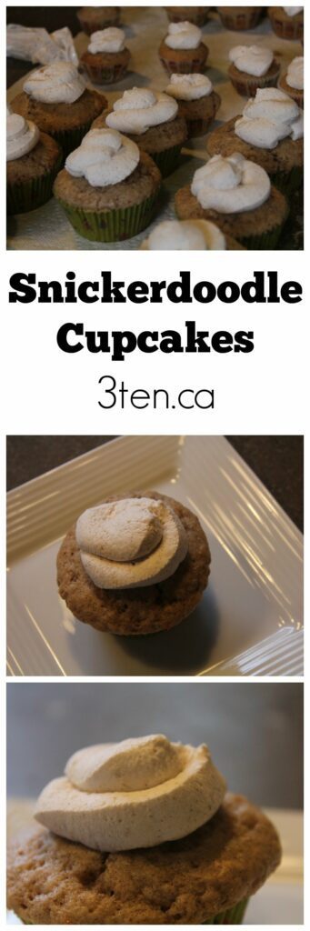 Snickerdoodle Cupcakes: 3ten.ca