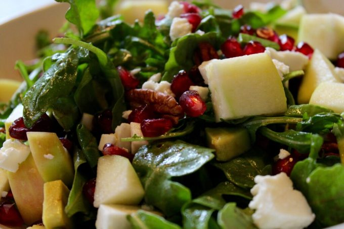 Fresh Fall Salad with Feta: 3ten.ca