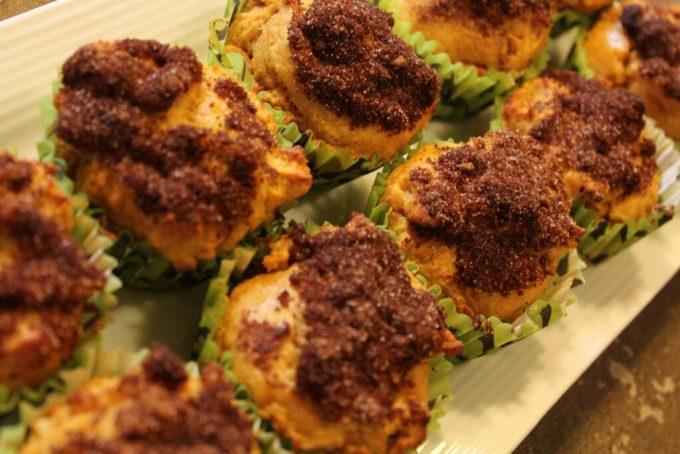 Gluten Free Pumpkin Churro Muffins: 3ten.ca