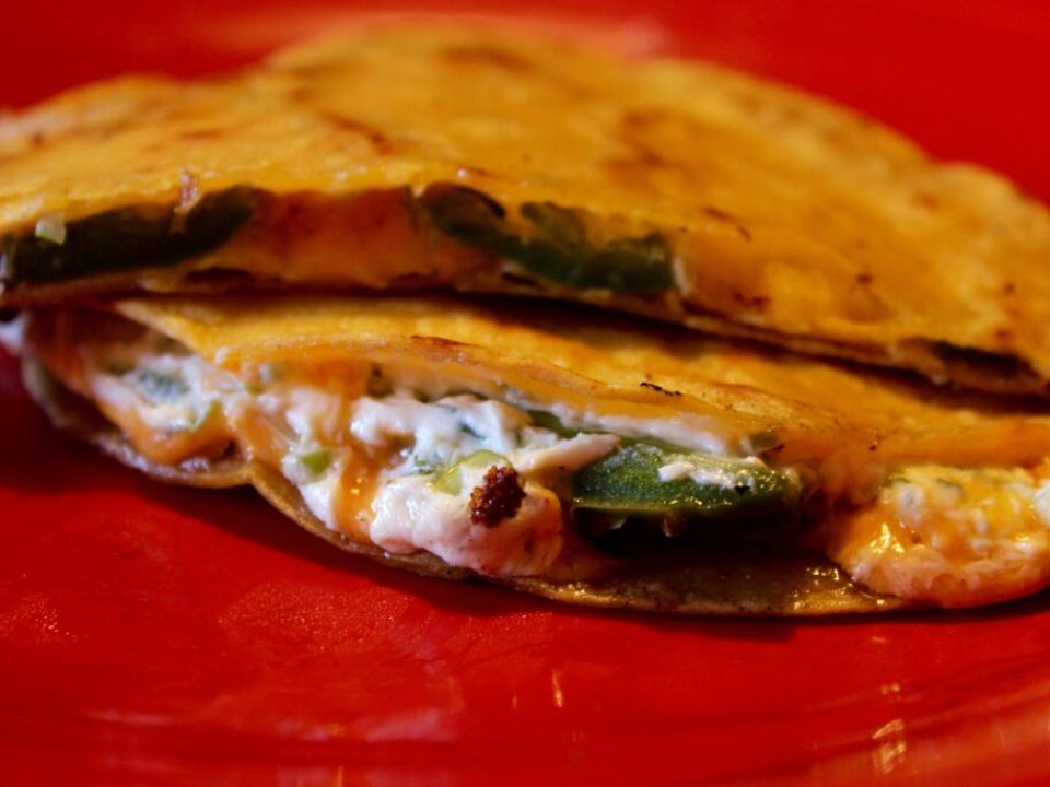 Jalapeno Popper Quesadilla: 3ten.ca