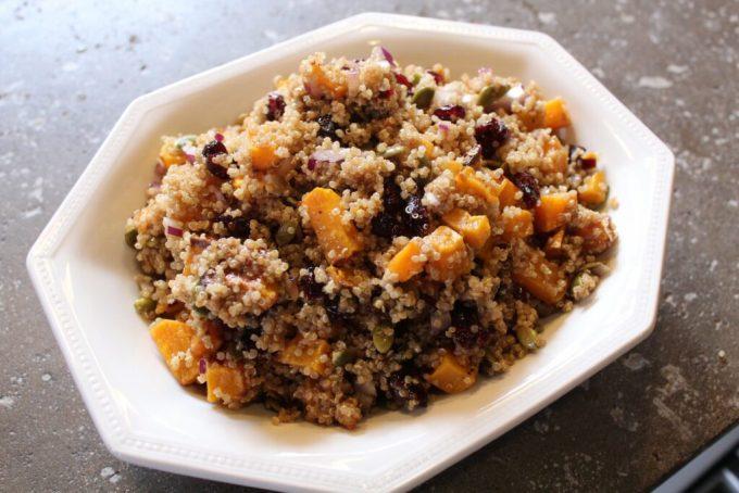 Quinoa Fall Salad: 3ten.ca