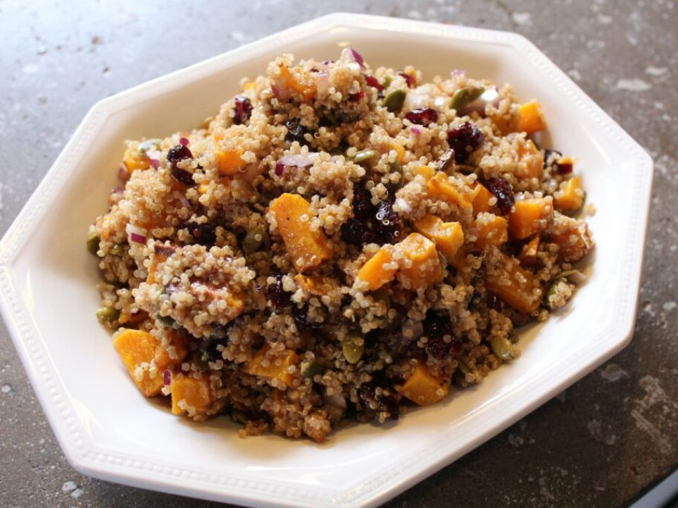 Quinoa Fall Salad: 3ten.ca