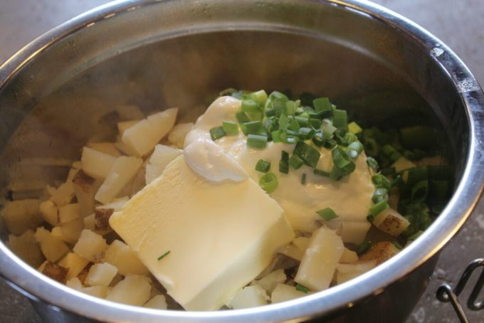 Sour Cream Mashed Potatoes: 3ten.ca