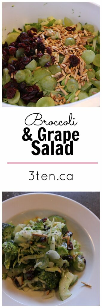 Broccoli and Grape Salad: 3ten.ca