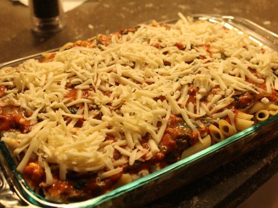 Gluten Free Penne Lasagna Bake: 3ten.ca