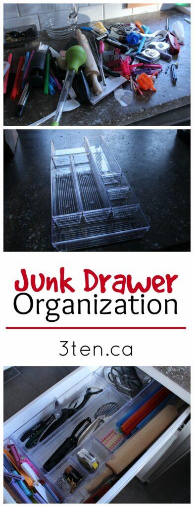 Junk Drawer Organization: 3ten.ca