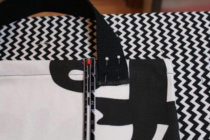 Sewing Week Three Magazine Bag: 3ten.ca