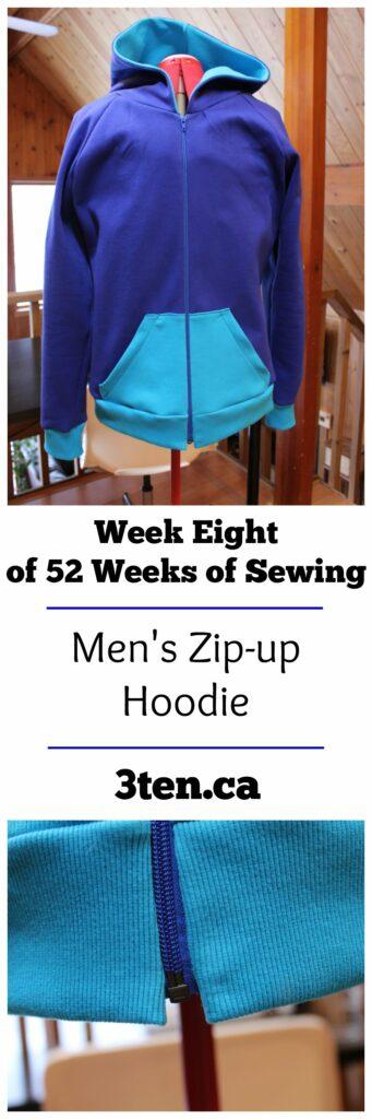 Men's Zip-up Hoodie: 3ten.ca