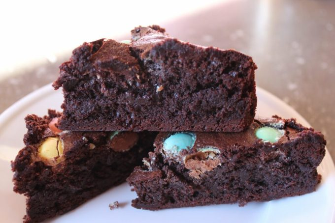 Gluten Free Fudgy Brownie Easter Style: 3ten.ca