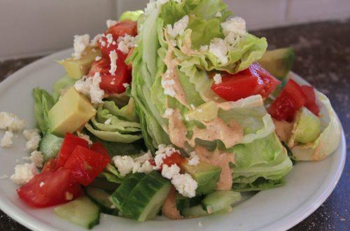 Avocado Wedge Salad: 3ten.ca