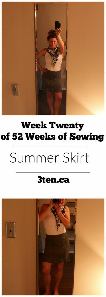 Summer Skirt: 3ten.ca