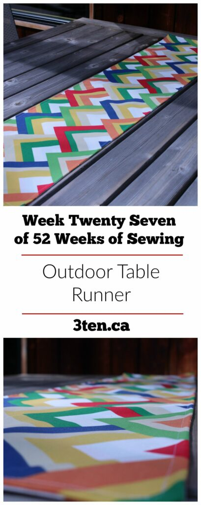Outdoor Table Runner: 3ten.ca