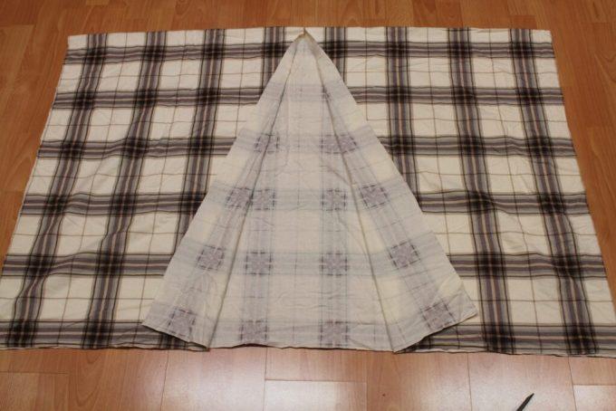 Fall Flannel Blanket Cape: 3ten.ca