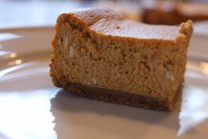 Gluten Free Pumpkin Cheesecake: 3ten.ca
