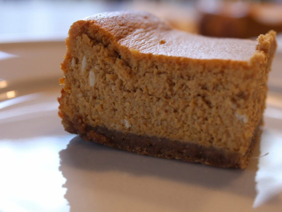 Gluten Free Pumpkin Cheesecake: 3ten.ca
