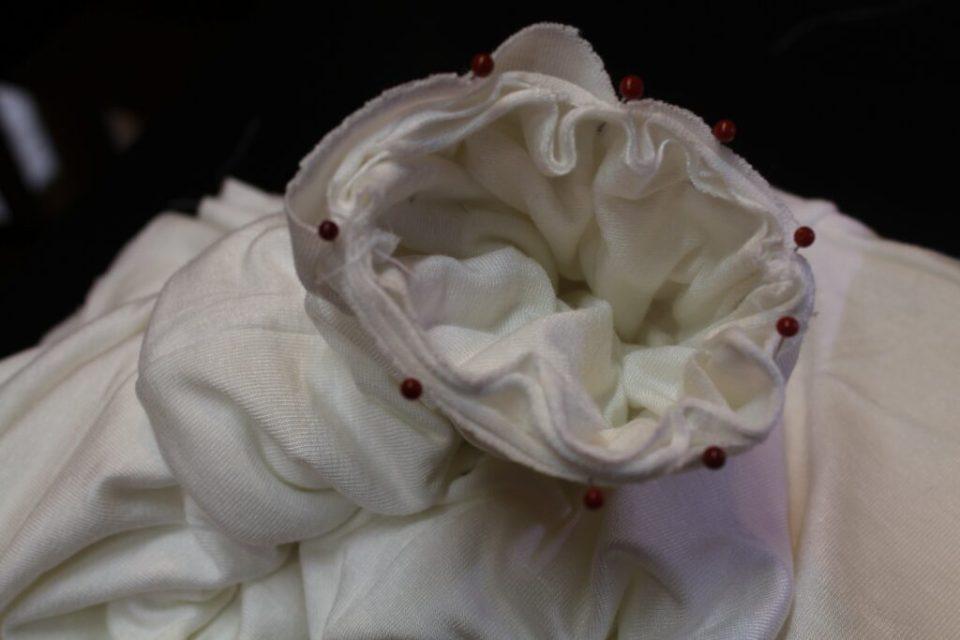 White Bat Wing Dress Tutorial: 3ten.ca