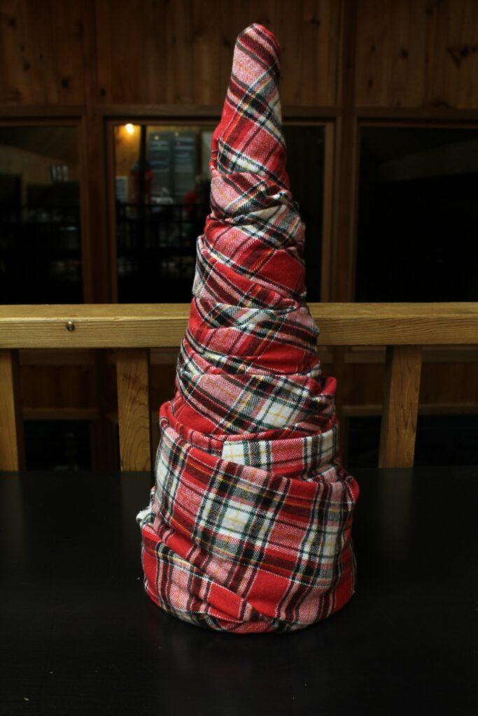 Fabric Christmas Trees: 3ten.ca