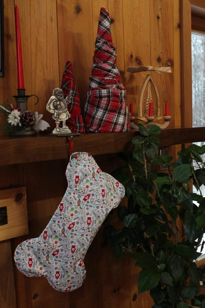 Fabric Christmas Trees: 3ten.ca