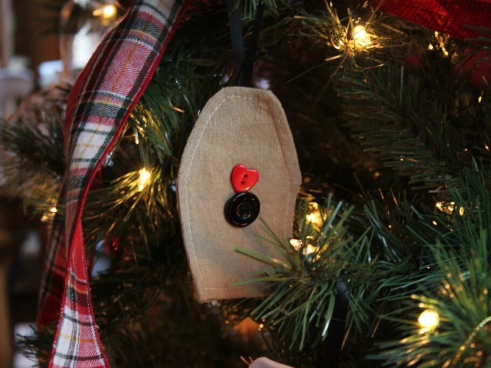 Fabric Christmas Ornaments: 3ten.ca