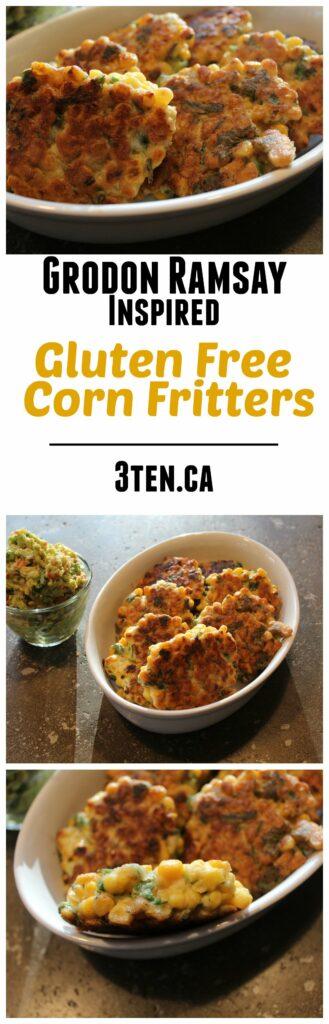 Gluten Free Corn Fritters: 3ten.ca