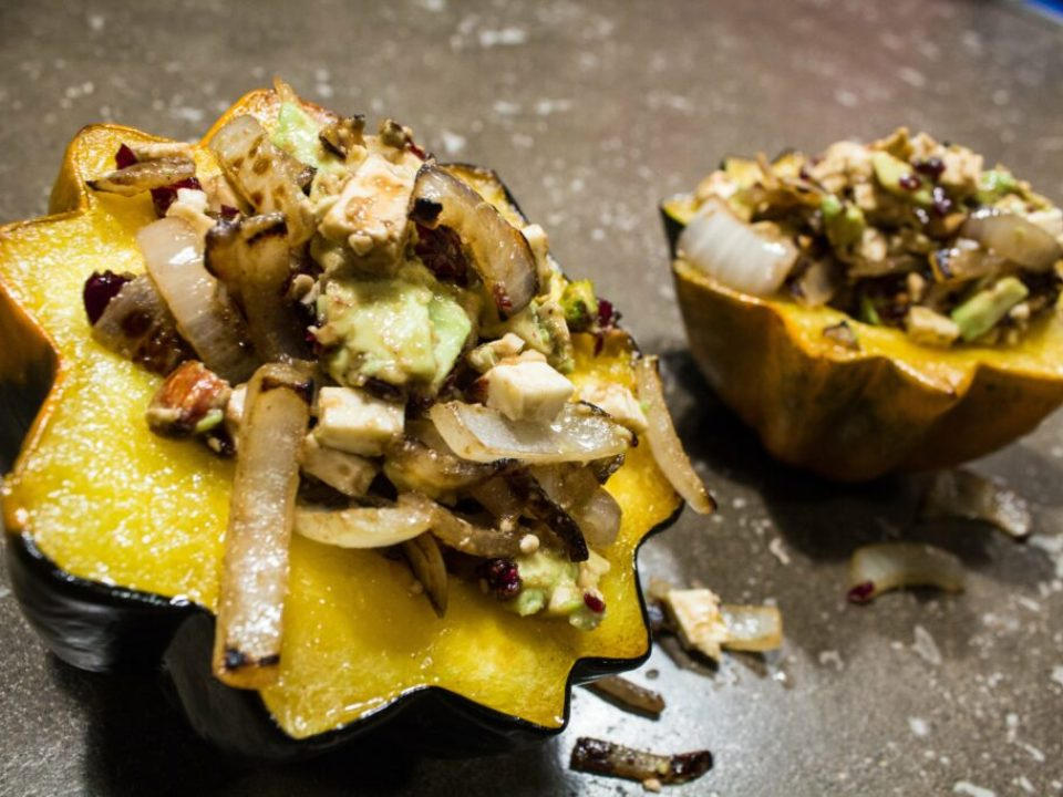 Stuffed Acorn Squash: 3ten.ca