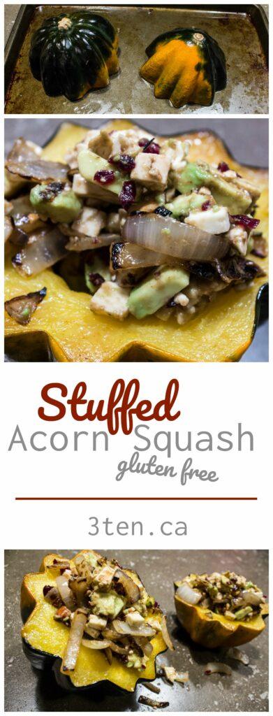 Stuffed Acorn Squash: 3ten.ca
