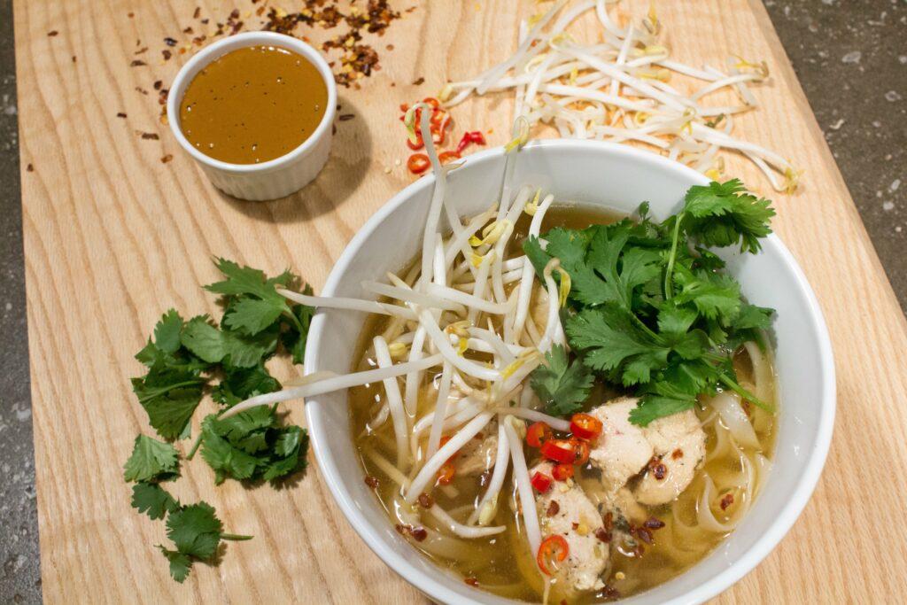 Gluten Free Spicy Chicken Pho: 3ten.ca