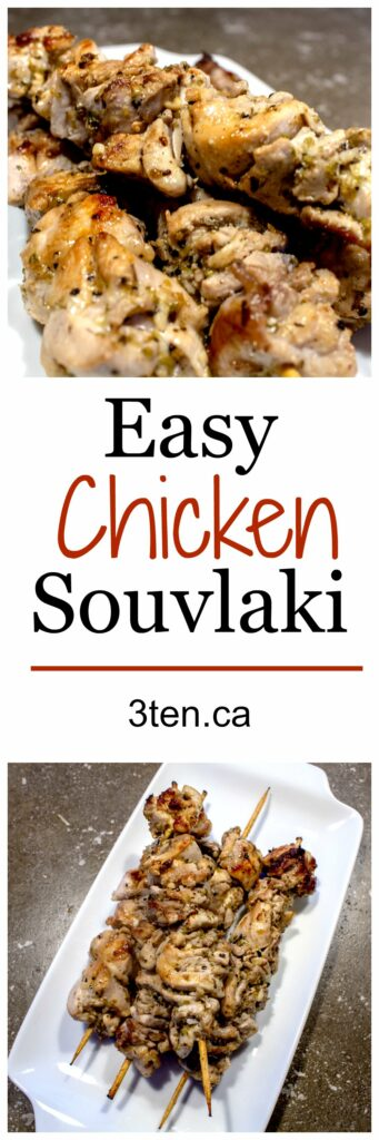 Chicken Souvlaki: 3ten.ca