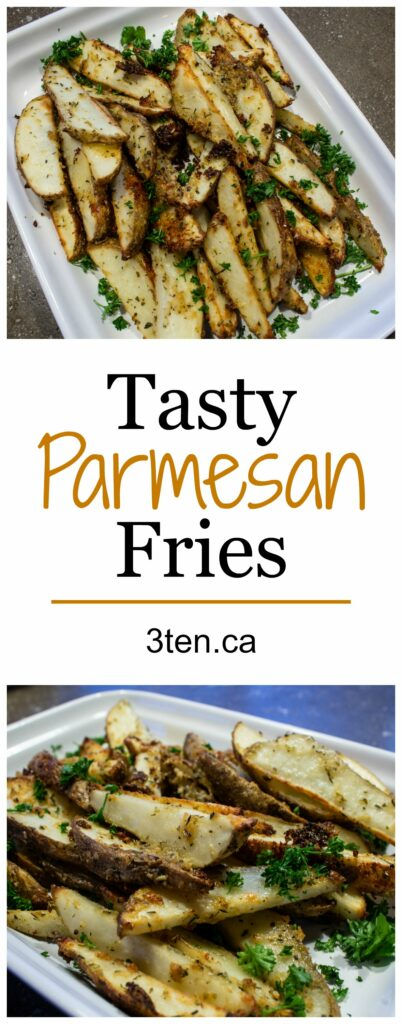 Tasty Parmesan Fries: 3ten.ca