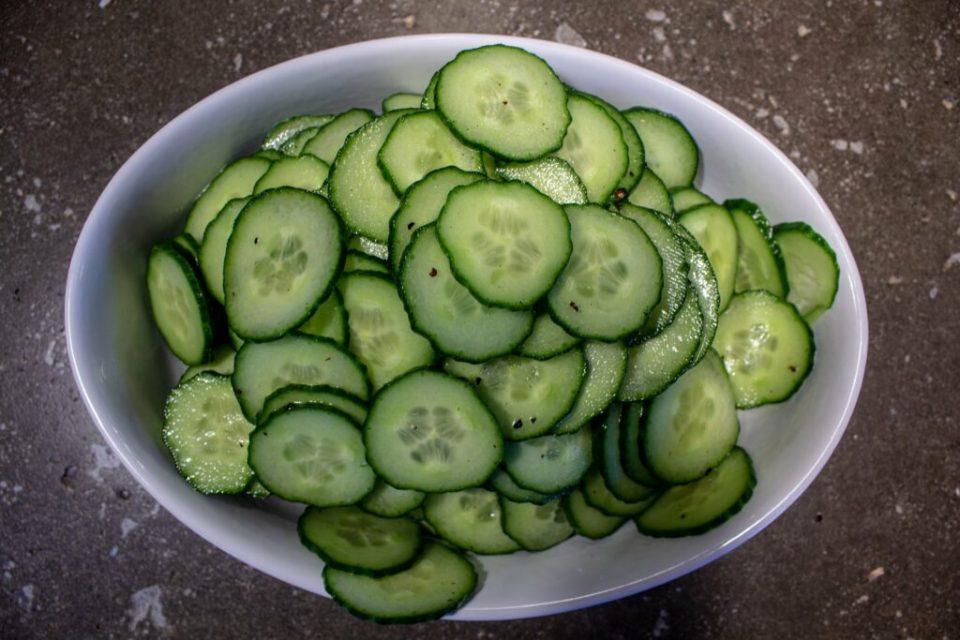 Tangy Cucumber Salad: 3ten.ca